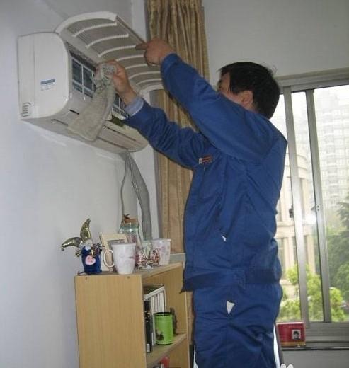 清洗空调的方法图解